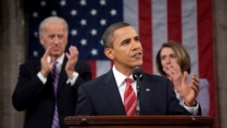 President Obama delivers his first State of the Union Address (White House Photo by Pete Souza)