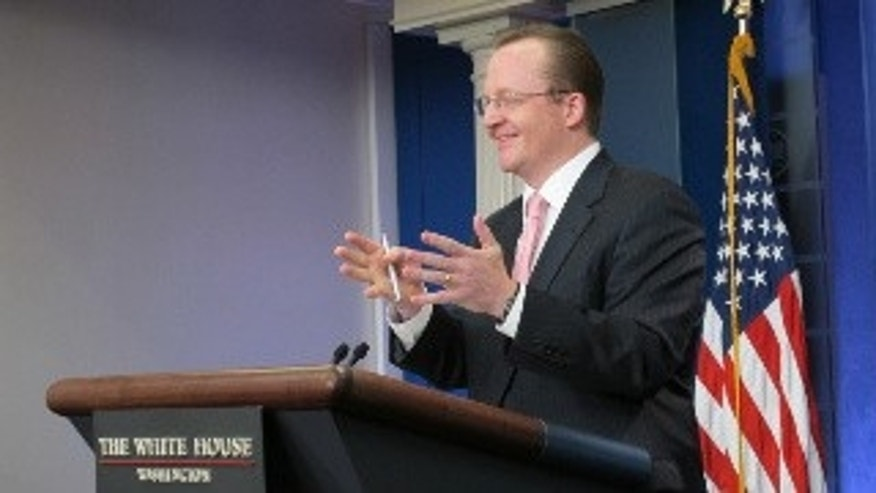 White House Press Secretary Robert Gibbs (Fox Photo)