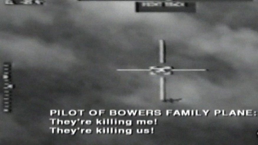 CIA Surveillance video captures Peruvian Air Force fighter jet shooting down plane carrying American missionaries.