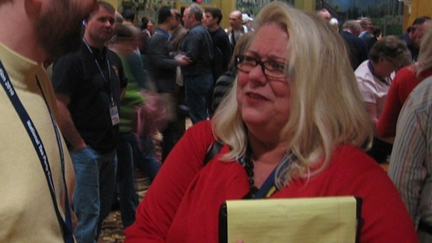 Doris Gentry of Napa, Calif., ran unsuccessfully for state office two years ago, but she's hoping the tips she picks up at the National Tea Party Convention will give her next run the fire it needs.