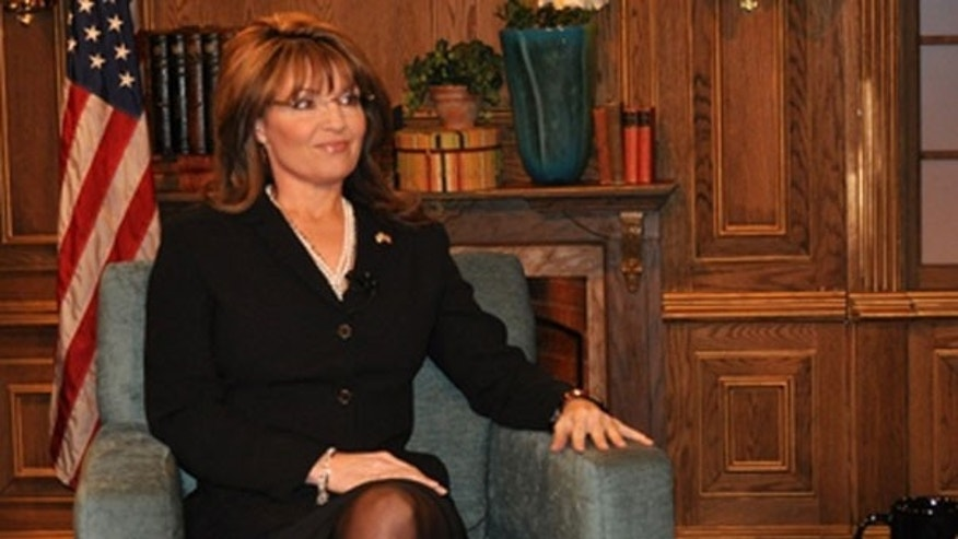 "Former Alaska Gov. Sarah Palin at the National Tea Party Convention (""Fox News Sunday"")."