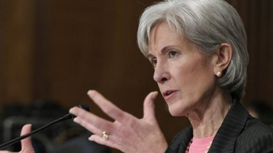 Health and Human Services Secretary Kathleen Sebelius testifies on Capitol Hill Feb. 3. (AP Photo)