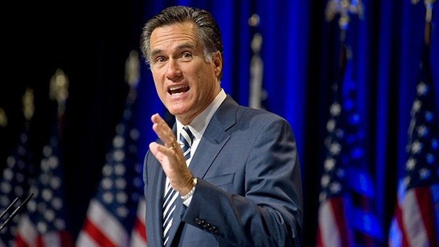 Feb. 18, 2010: Former Massachusetts Gov. Mitt Romney addresses the Conservative Political Action Conference in Washington.