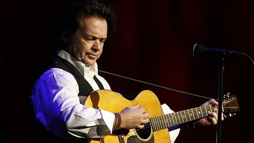 Oct. 28, 2009: John Mellencamp plays during a tribute to former NCAA president Myles Brand in Indianapolis.