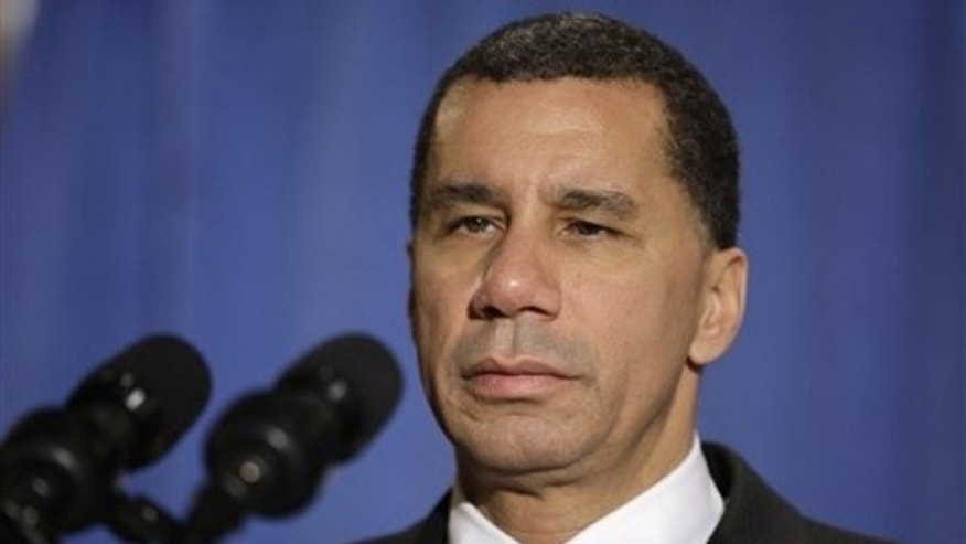 Gov. David Paterson listens to a question during a news conference Thursday, Feb. 25, 2010 in New York. (AP)