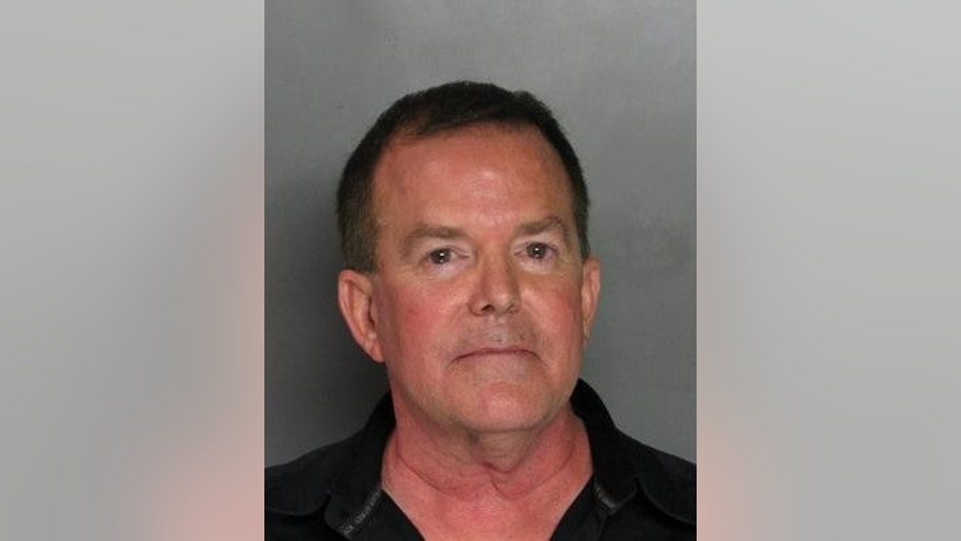 State Sen. Roy Ashburn is seen here in his booking photo at Sacramento County Jail.