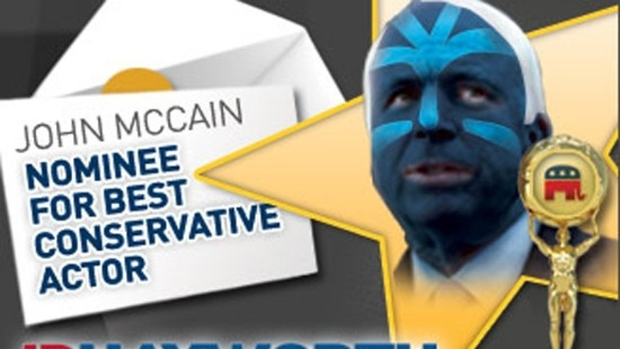 "A campaign attack ad that depicts Sen. John McCain as an ""Avatar"" has the Arizona Republican crying foul over what he sees as a slap to Native Americans."