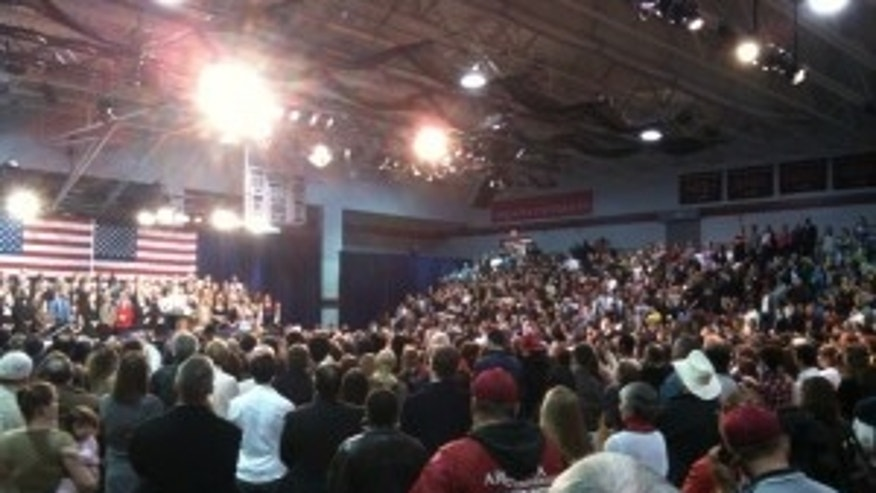 President Obama rallies public support in Glenside, PA for his health care proposal. (Fox Photo)