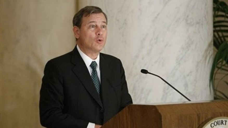 FILE: Chief Justice John Roberts (AP Photo)