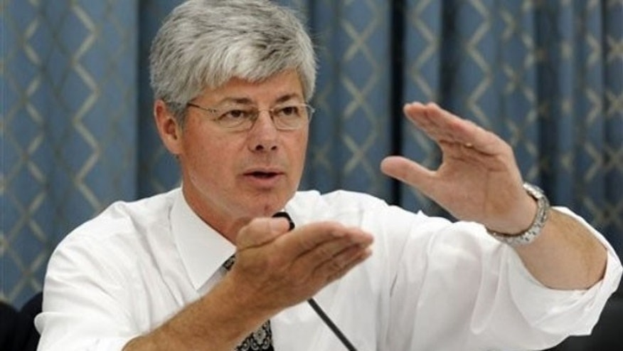 Rep. Bart Stupak asks questions during a hearing on auto dealership closures June 12 on Capitol Hill. (AP Photo)