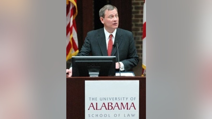 Chief Justice John Roberts Speaks at University of Alabama (AP Photo)