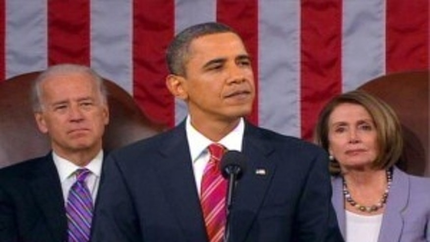 President Obama addresses Congress at the State of the Union in January (AP Photo)