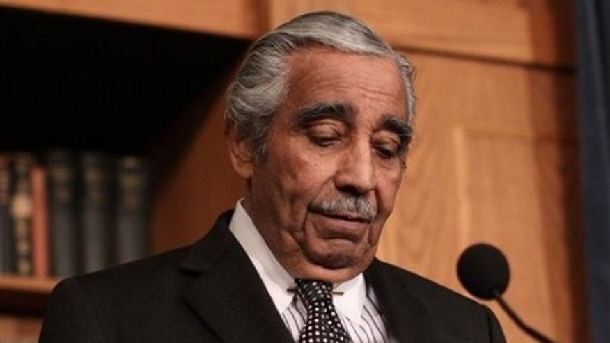 Feb. 25: Former House Ways and Means Committee Chairman Rep. Charlie Rangel makes a statement on Capitol Hill regarding an ethics panel's finding against him.