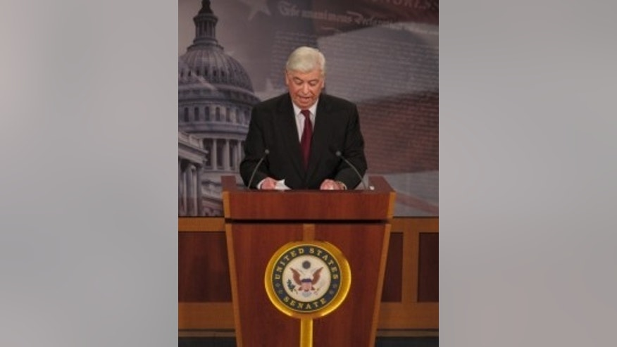 Senate Banking Chairman Dodd unveils financial regulatory reform. (Fox Photo)