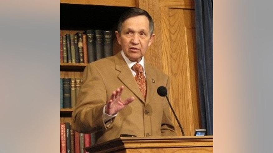 "Kucinich says ""yes"" to health care overhaul, with reservations. (Fox Photo)"