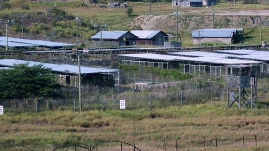 Shown here is a view of Camp X-Ray, which is no longer in use, at the Guantanamo Bay U.S. Naval Base on Aug. 5, 2009. (Reuters Photo)