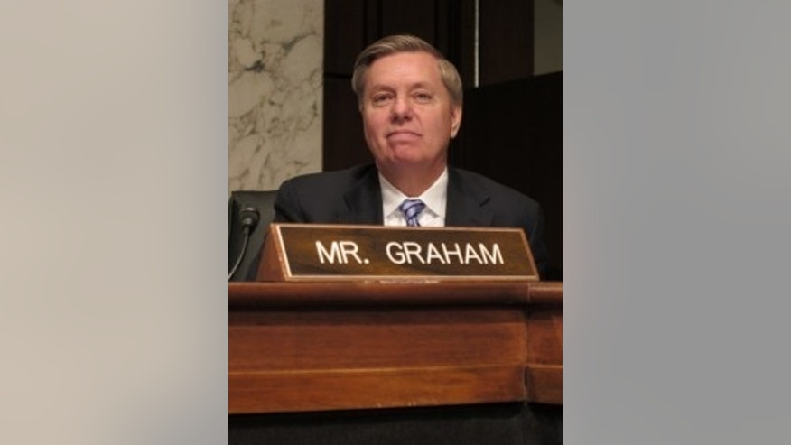 Sen. Lindsey Graham, R-SC, shot by John Wallace