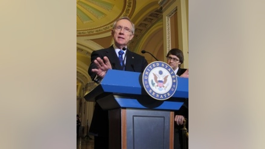 Sen. Harry Reid, D-NV, shot by John Wallace