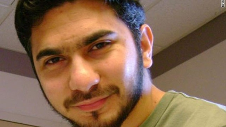 A man who was identified by neighbors in Connecticut as Faisal Shahzad, is shown. (AP/Orkut.com)