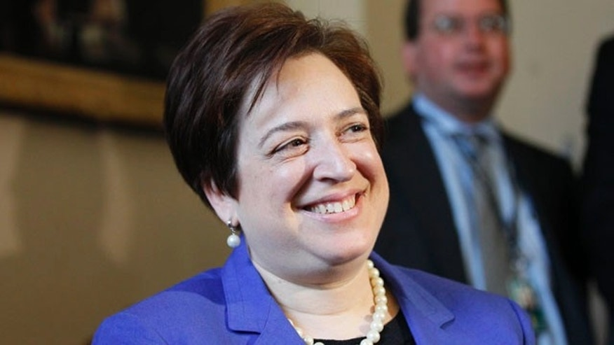 Supreme Court nominee Elena Kagan
