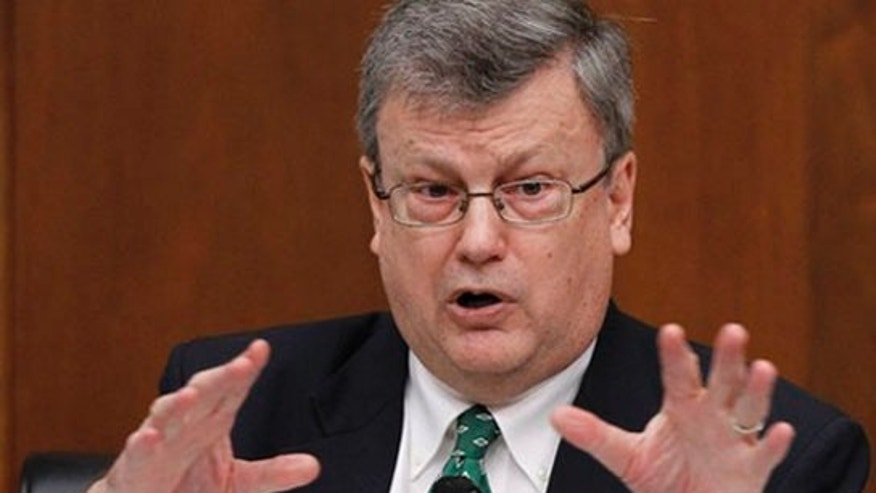 FILE: Rep. Mark Souder, R-Ind. on Capitol Hill in Washington in February 2010. (AP Photo)