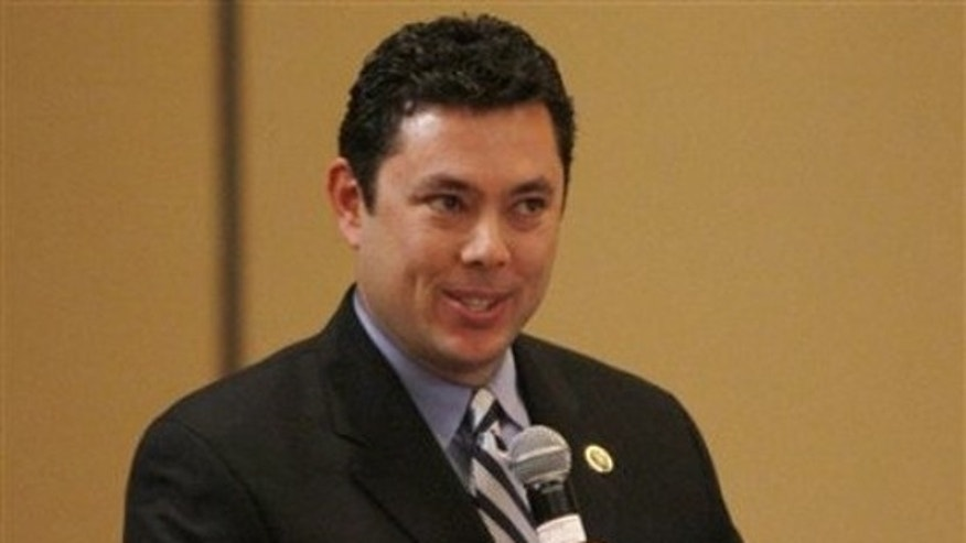 FILE: Rep. Jason Chaffetz, R-Utah, at the GOP House Issues Conference in Baltimore, Friday, Jan. 29, 2010. (AP)
