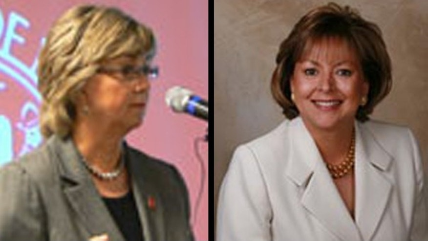 Lt. Gov. Diane Denish, (l), and Dona Ana County District Attorney Susana Martinez, (r), are favored to meet each other for New Mexico's gubernatorial race in November (Lt. Governor's Office/Dona Ana County Office)