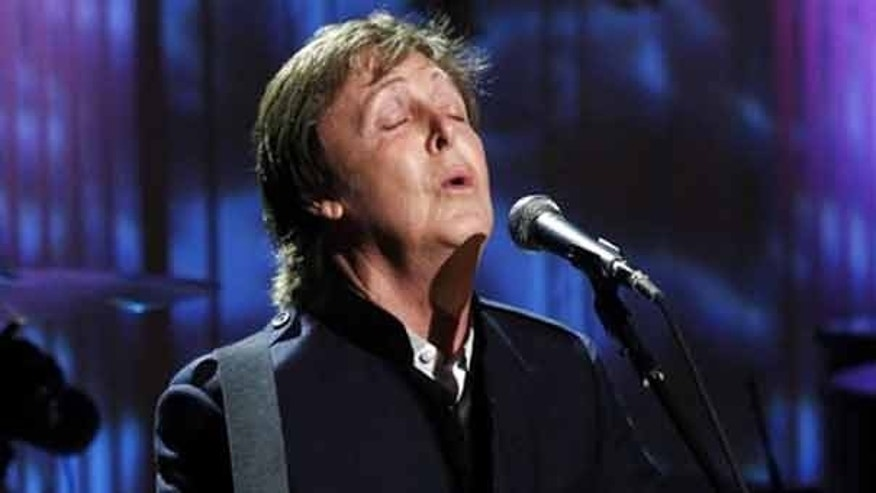 "June 2: Paul McCartney performs ""Michelle"" in the East Room of the White House while being honored by President Obama. Obama awarded McCartney the 3rd Gershwin Prize for Popular Song from the Library of Congress."