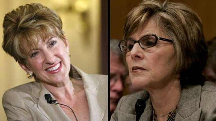 Former Hewlett-Packard CEO Carly Fiorina and Sen. Barbara Boxer are facing off in the U.S. Senate race in California