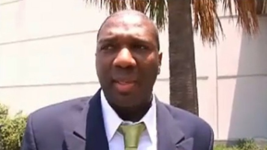 Shown here is South Carolina Senate candidate Alvin Greene. (FNC)