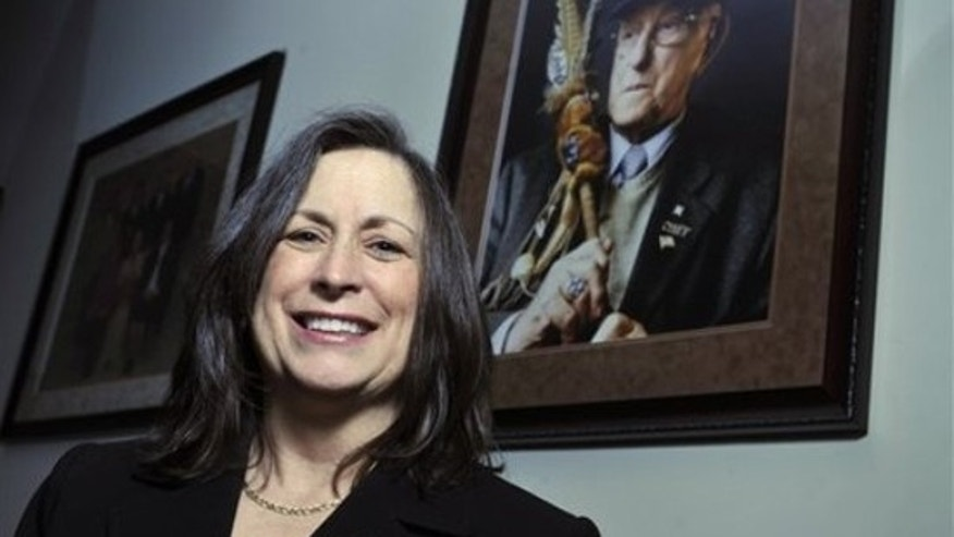 Lynn Malerba is chief of the Mohegan tribe, which won $54 million in federal money. (AP)