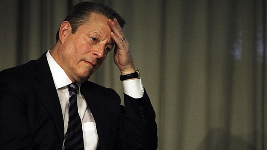 Former Vice President Al Gore at the UN Climate summit in Copenhagen, Denmark.