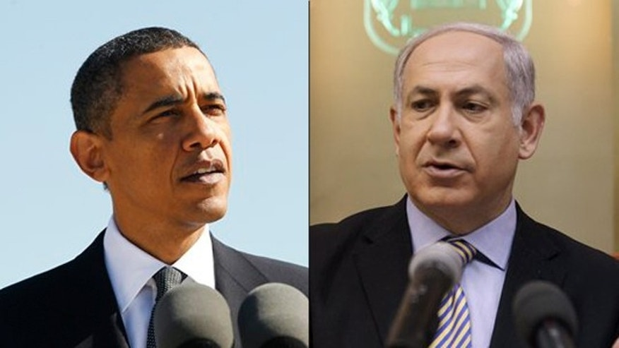 Shown here are President Obama and Israeli Prime Minister Benjamin Netanyahu. (AP Photos)