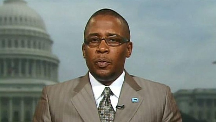 Malik Zulu Shabazz, chairman of the New Black Panther Party, speaks to Fox News, July 9. 2010. (FNC)