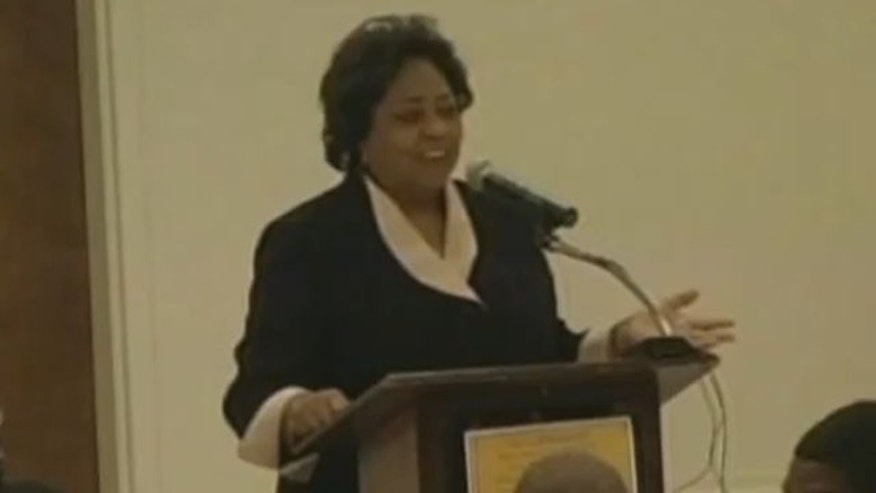 Shown here is USDA Georgia official Shirley Sherrod. (YouTube)