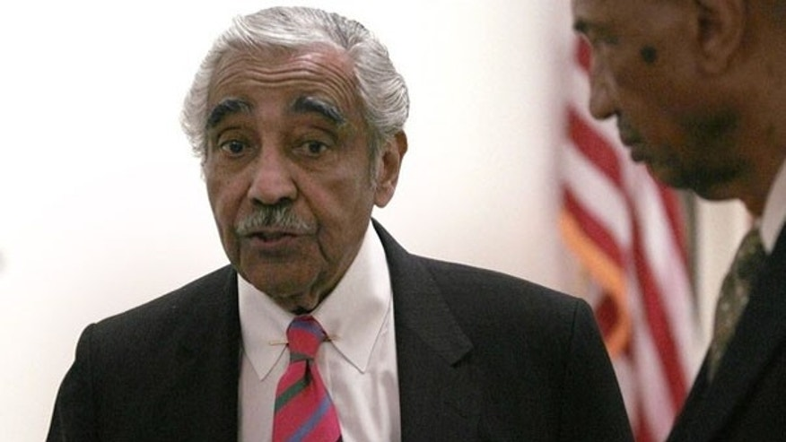 July 22, 2010: U.S. Rep. Charles Rangel speaks with Chief of Staff George Henry shortly after a congressional investigative panel accused Rangel of ethics violations. (Reuters)
