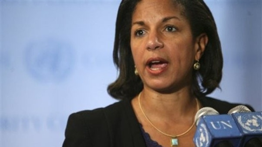U.S. Ambassador to the United Nations Susan Rice has taken flack from the right over Libya, but now environmentalists are upset with her. (AP Photo)
