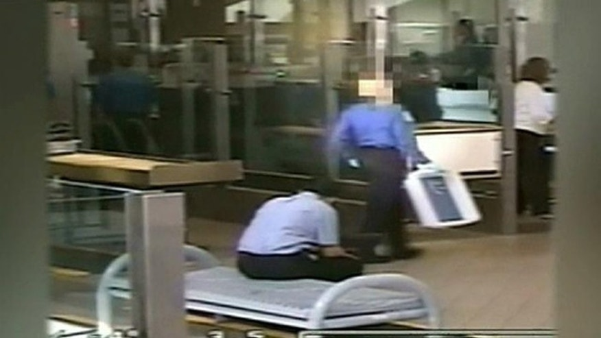 This screen shot shows a TSA employee who was improperly receiving Social Security payments, according to the Government Accountability Office. (GAO)