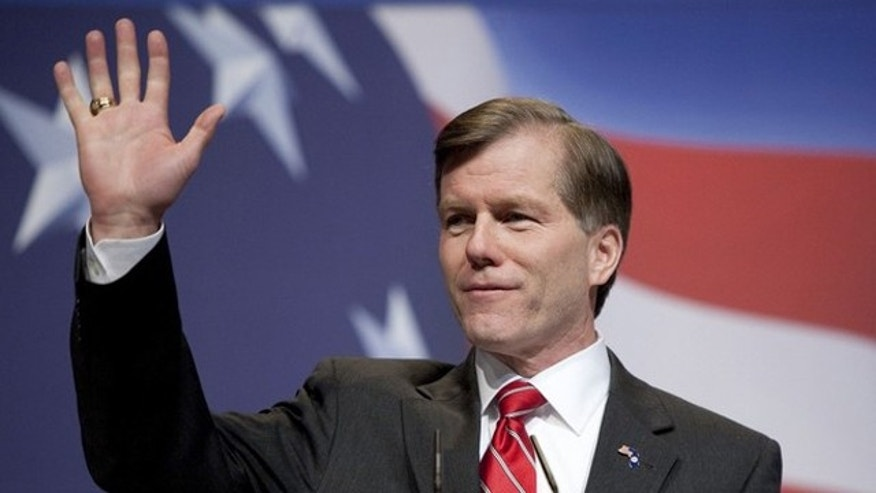 In this Feb. 19 photo, Virginia Gov. Bob McDonnell speaks at the Conservative Political Action Conference in Washington. (Reuters Photo)