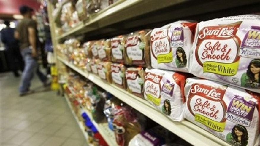 Shown here are the shelves at a grocery store Aug. 12, 2009, in Chicago. (AP Photo)