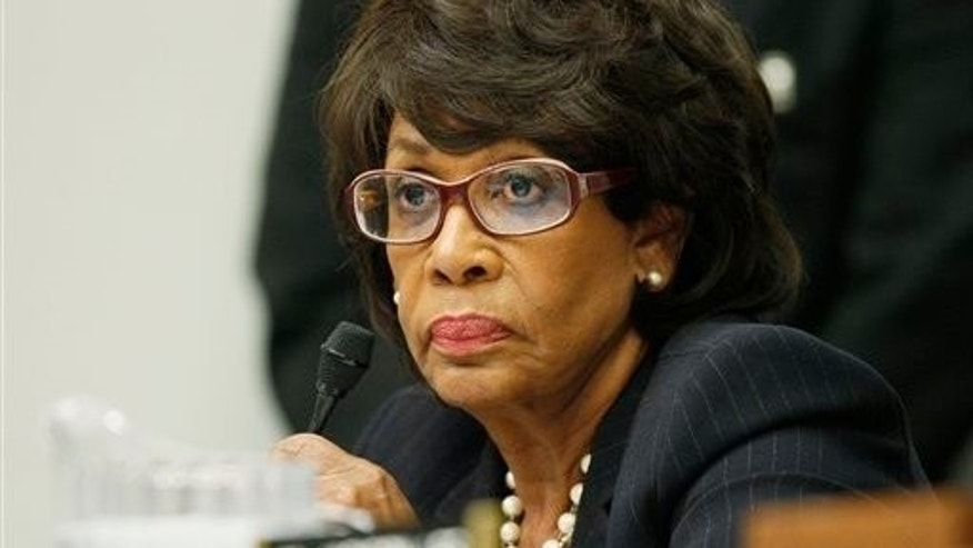Oct. 28, 2009: Rep. Maxine Waters, D-Calif., is seen on Capitol Hill. A House investigative panel has charged her with violating ethics rules.