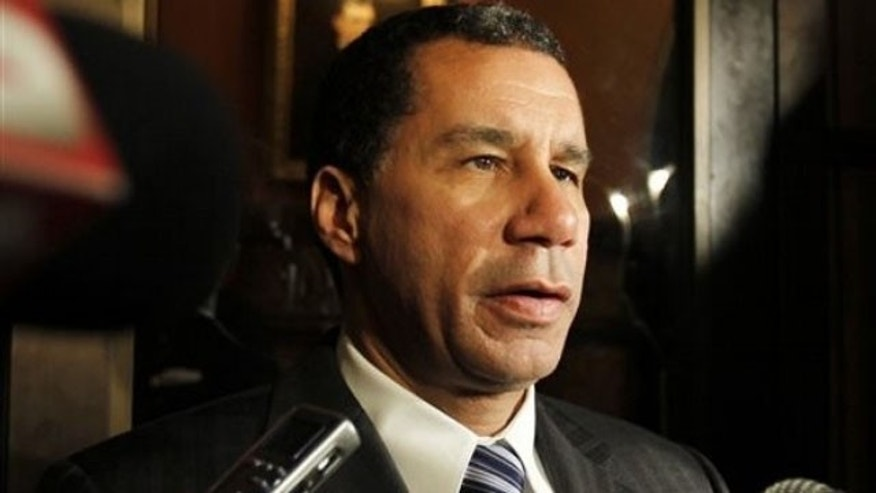 FILE: Gov. David Paterson has vowed to collect taxes on cigarettes sold by Native American vendors.