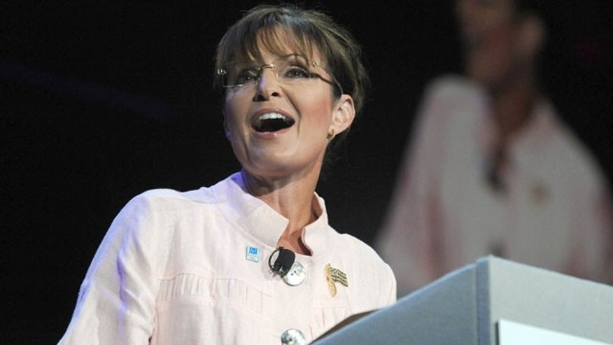 June 29: Former Alaska Gov. Sarah Palin speaks in Duluth, Ga.