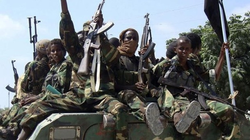 Shown here are Al Shabab fighters.