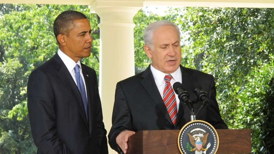 President Obama listens as Israeli Prime Minister Benjamin Netanyahu talks in Washington, D.C., Sept. 1. (Fox News)
