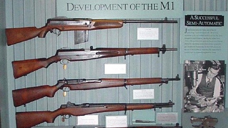 A photo of M1 Garands (National Park Service)