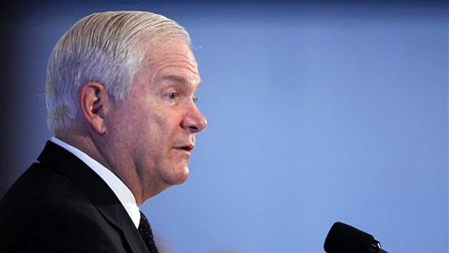 Defense Secretary Robert Gates speaks at the National Press Club in Washington Sept. 10. (AP Photo)