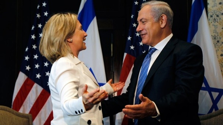 Sept. 14: Secretary of State Hillary Clinton and Israeli Prime Minister Benjamin Netanyahu meet in Egypt.