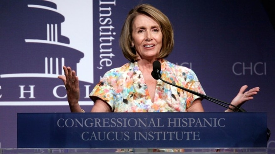 Sept. 15, 2010: House Speaker Nancy Pelosi, D-Calif., speaks at the Congressional Hispanic Caucus Institute's 33rd Annual Awards Gala at the Washington Convention Center in Washington.