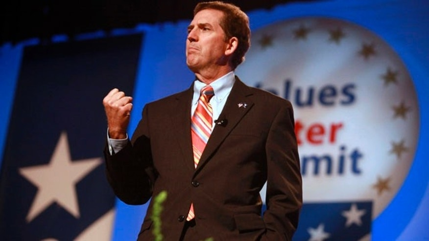 Sept. 17: Sen. Jim DeMint, R-S.C., speaks to the Values Voter Summit, held by the Family Research Council Action in Washington.